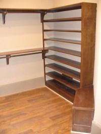 Custom Closet shoe rack and bench seat | Flickr - Photo ...