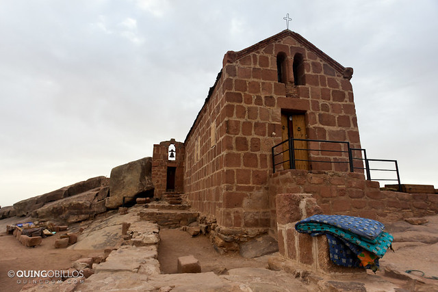 A Greek Orthodox Church on Mount Sinai