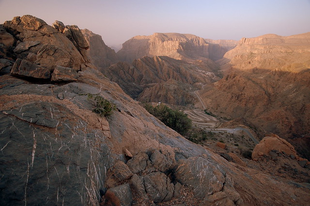 Epic gorges in Jebel Akhdar