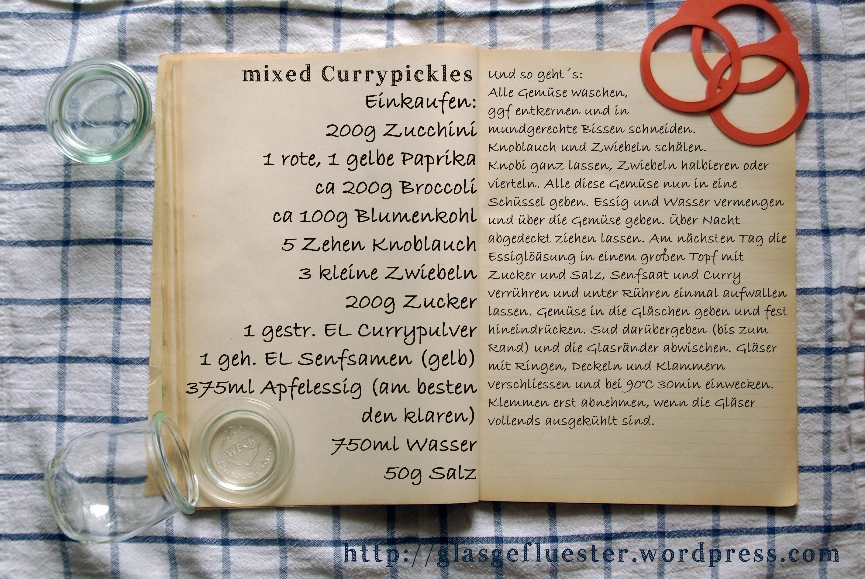 EinkaufszettelCurrypickles by Glasgefluester