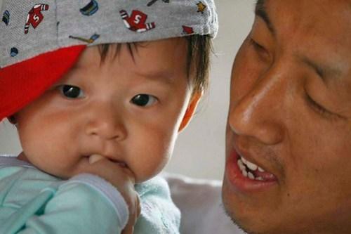 Bhutan: Father & Son