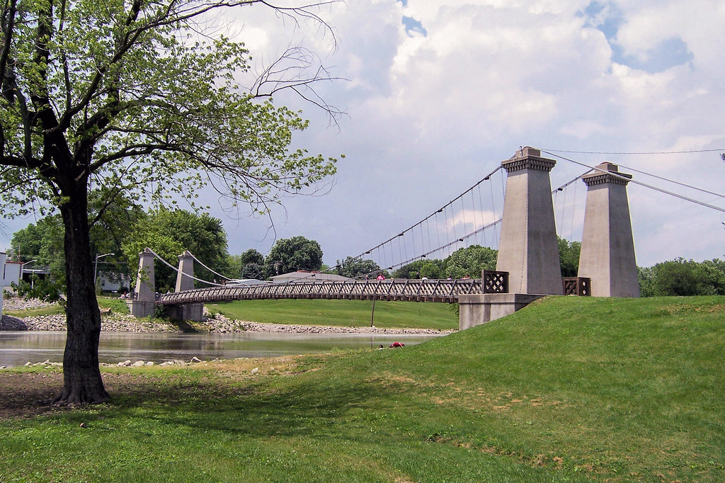 1859 General Dean Suspension Bridge