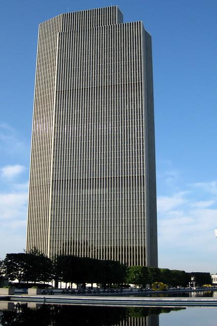 NY  Albany Empire State Plaza  Erastus Corning Tower