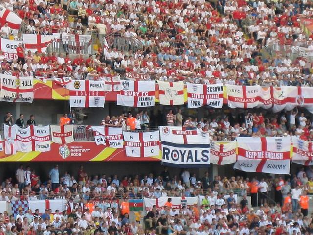 England's travelling faithful
