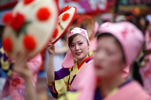Yamagata Hanagasa Matsuri (山形花笠祭り)