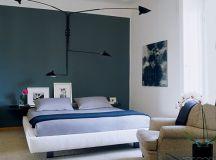 Farrow & Ball 'Railings': Modern design + gray accent wall ...