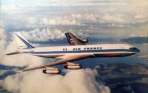 An Air France Boeing 707