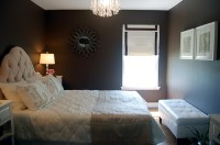 [Real Homes] Chic brown bedroom: Benjamin Moore 'Clinton ...