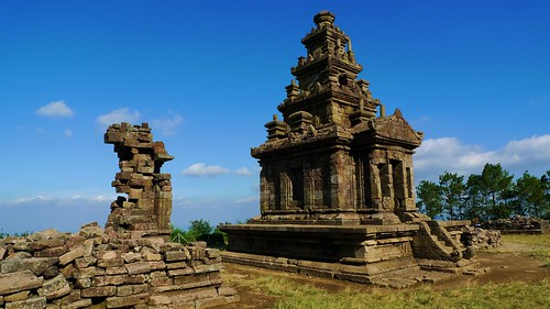 topmost temple - Gedong Songo