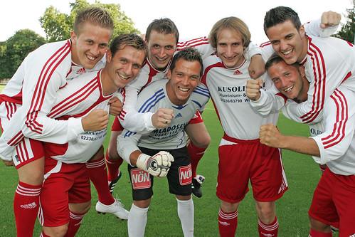 2009-07-23 SC Brunn - Schmidt - Maucha - Koch - Prcek - Haselmayer - Lämmermayer - Hofecker 0003