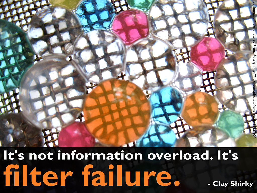 It's not information overload. It's filter failure.