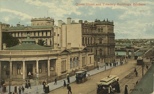 Queensland Government Treasury Buildings Queen Str…