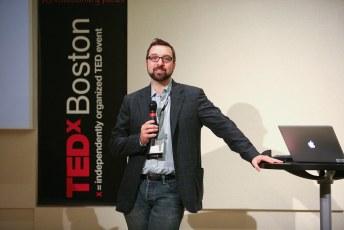 TEDxBoston host: Matt Saiia