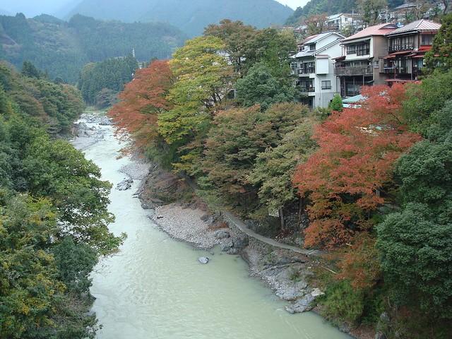Mitake gorge, Tamagawa River, 御岳渓谷