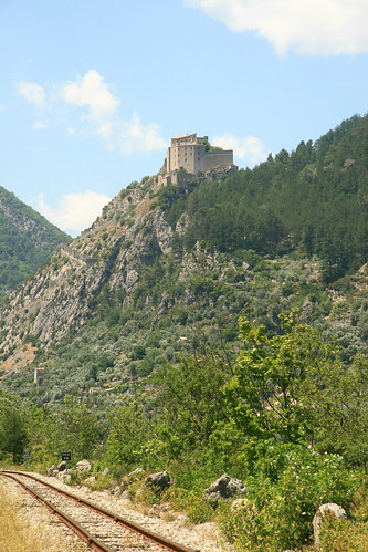 Entrevaux - view of the castle