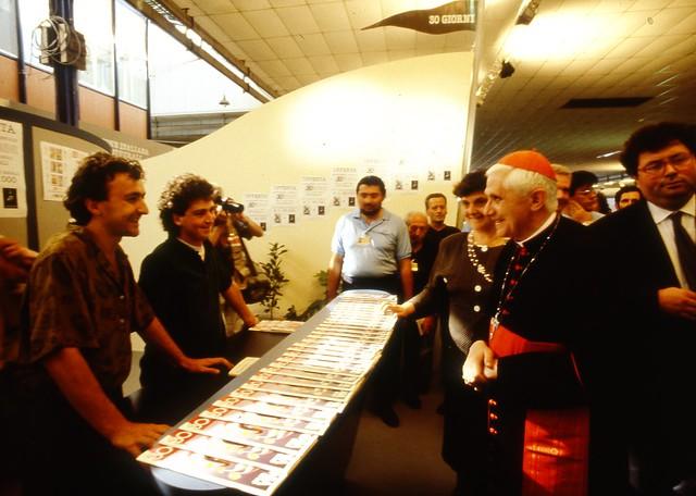 Card. Ratzinger al Meeting - 01/09/1990
