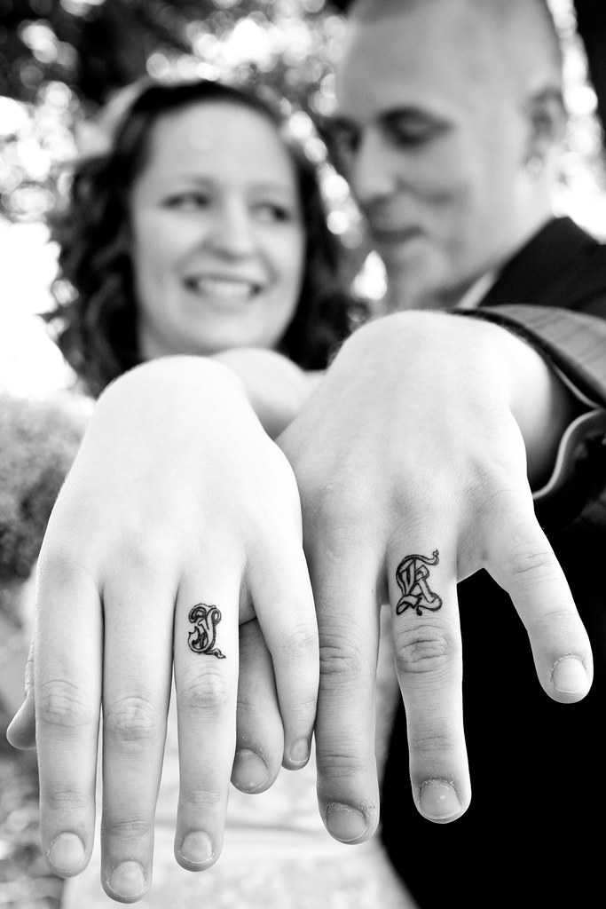 our wedding bands!