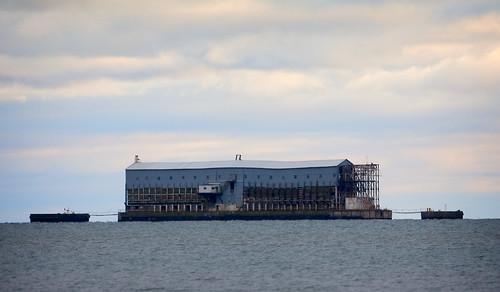 Old Off Shore Alabaster Loading facility