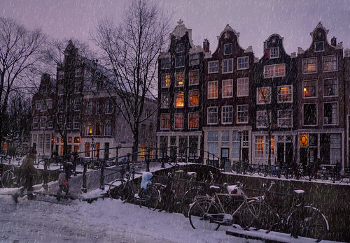 Let it snow in the Amsterdam