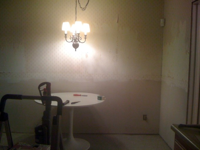 Taking Down Wallpaper