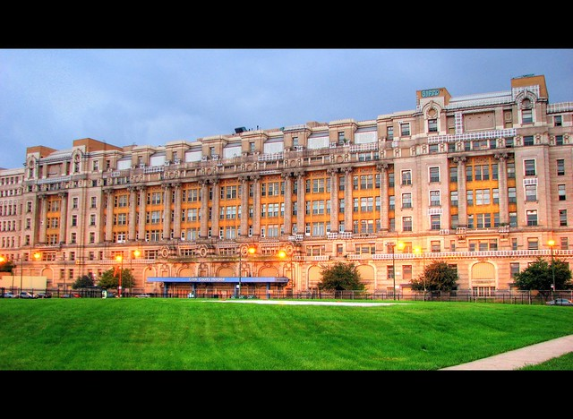 Cook County Hospital Chicago  This is a magnificient