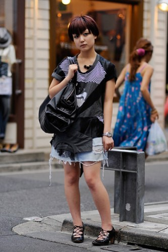 Harajuku street style