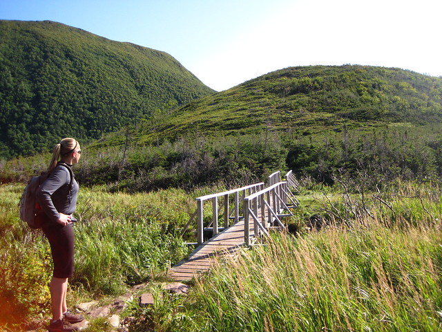 Hiking in Gros Morne National Park from Flickr via Wylio
