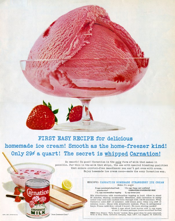Carnation Evaporated Milk - 1957