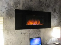 """ClassicFlame 35"""" Wall Hanging Electric Fireplace ..."""