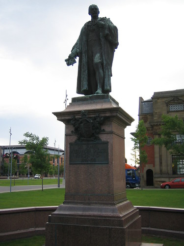 Samuel Sadler Statue, Middlesbrough