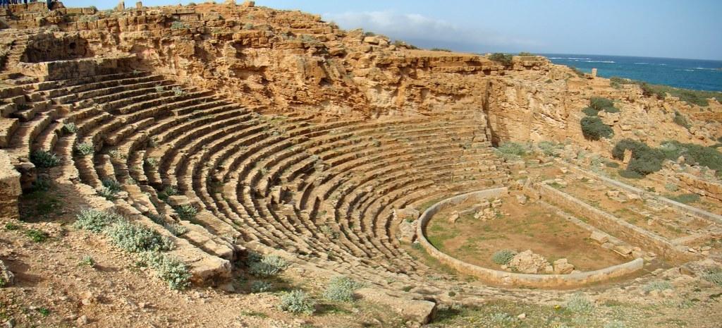 Libia Teatro griego Apolonia de Cirene 17