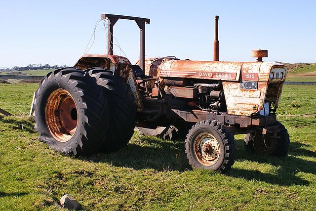 David Brown 1210 Tractor   Flickr  Photo Sharing!