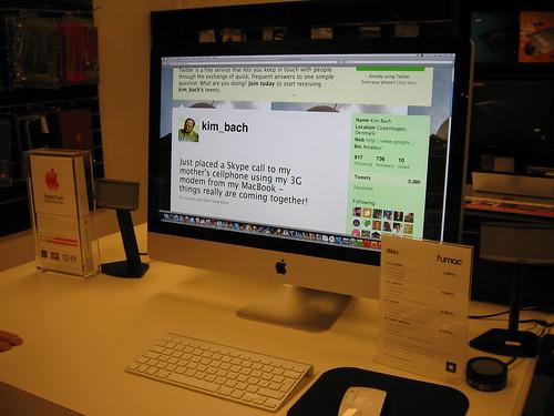 """iMac 27""""at Humac Vejle"""
