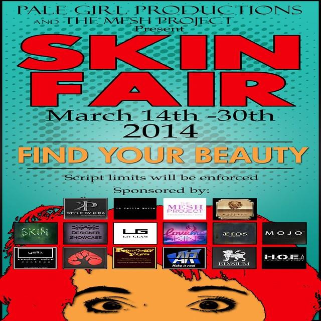 Skin Fair Poster 2014