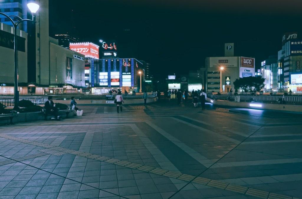 Sendai Station West Exit