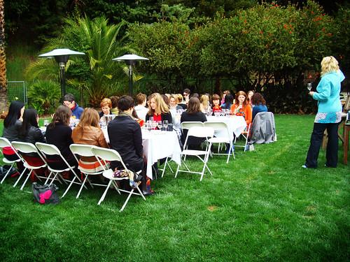 Leslie Sbrocco wine education at the Broad Summit