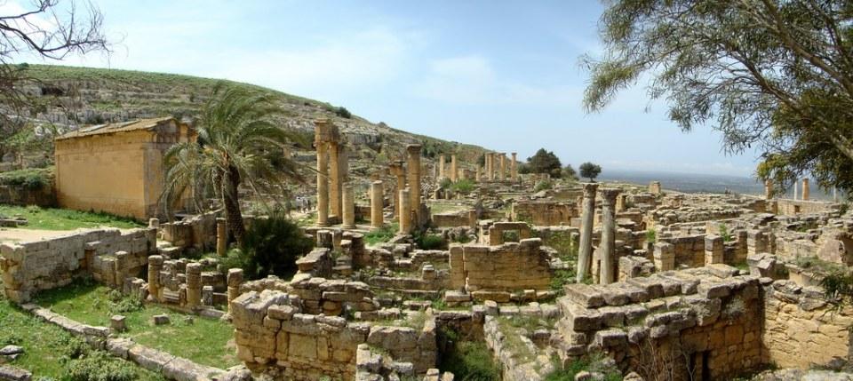 Libia Templo de Apolo Cirene 14