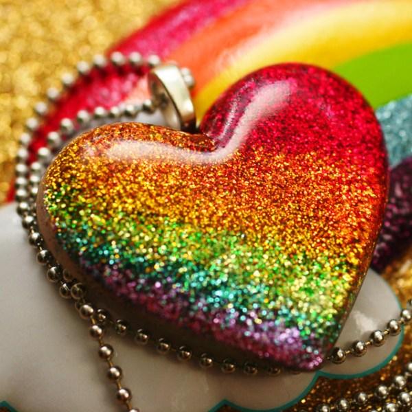 Rainbow Bright Heart