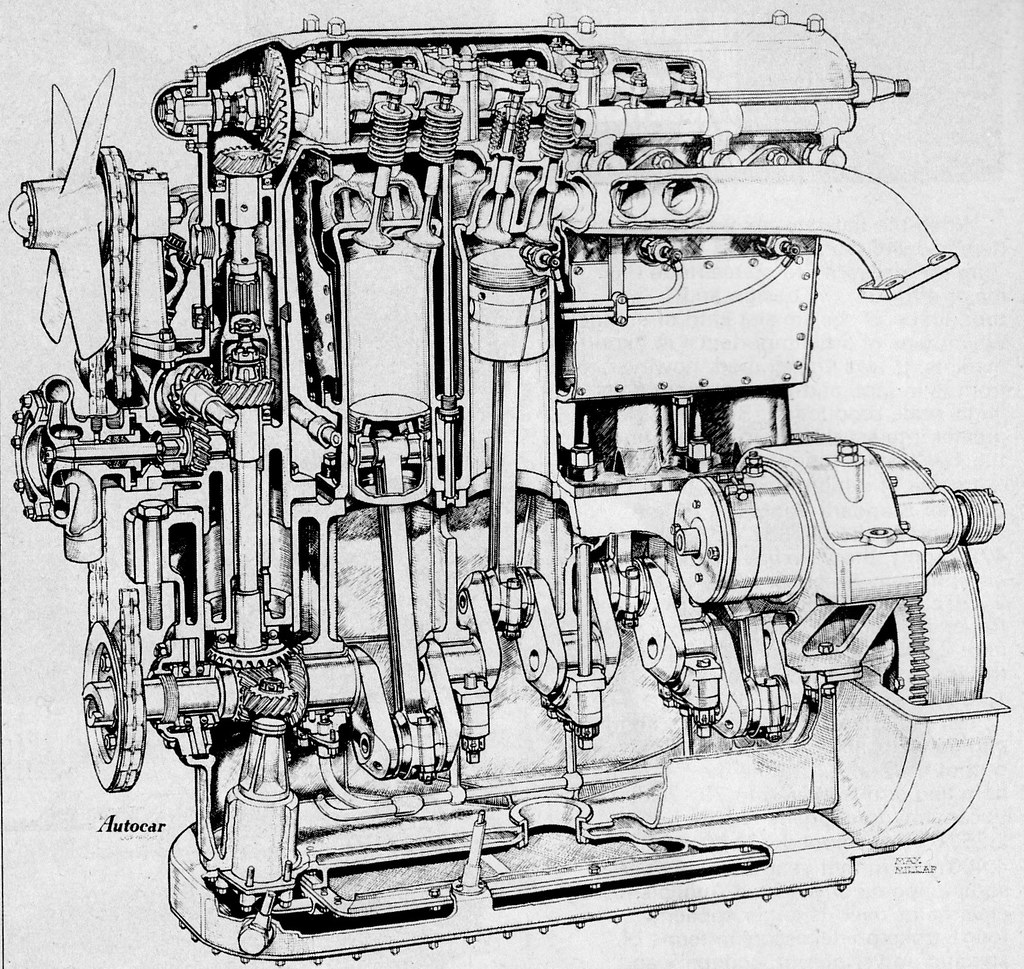 hight resolution of bentley ohc engine