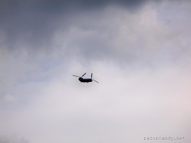 Chinook - 10th July, 2009