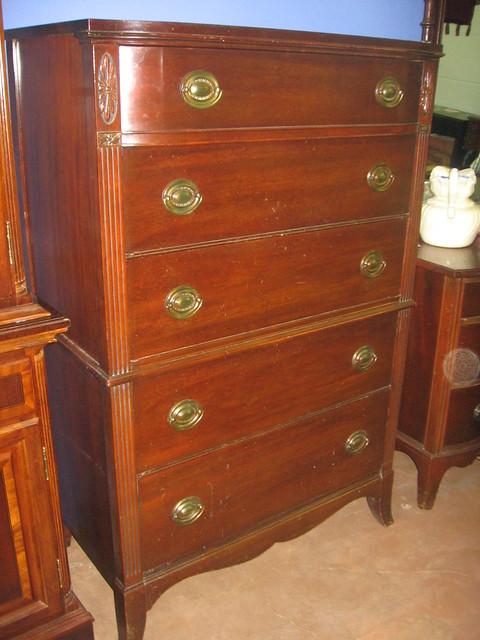 SOLD Huntley Furniture Medallion highboy  Flickr  Photo