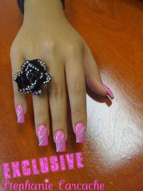blinged nails diva