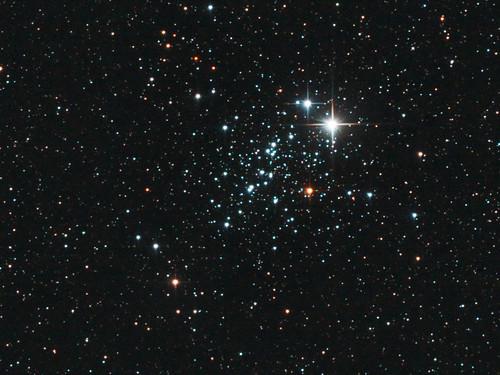 NGC 457 - Owl Cluster crop