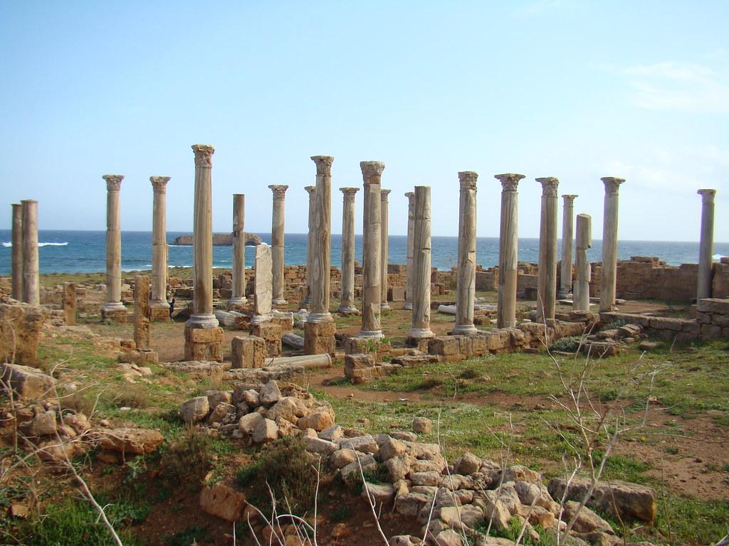 Libia Iglesia Bizantina del este Apolonia de Cirene 14