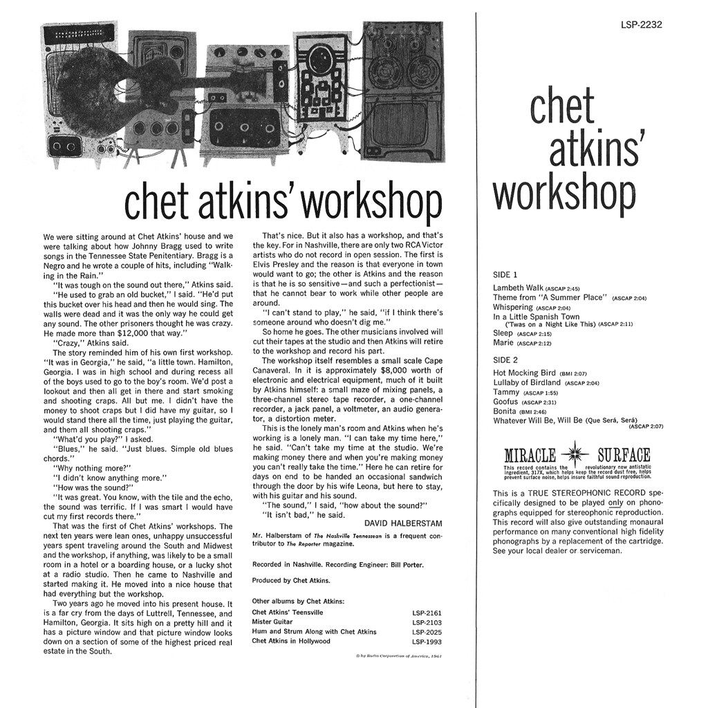 Chet Atkins - Workshop