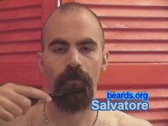 Salvatore: going goatee, part 5