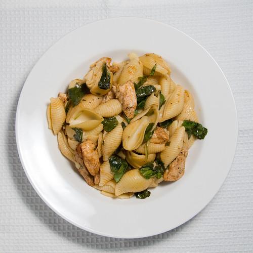 Chicken & lemon pasta