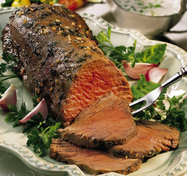 Marinated Beef Tenderloin with Merlot Sauce Recipe