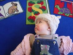 Sabrina at Hornby Library