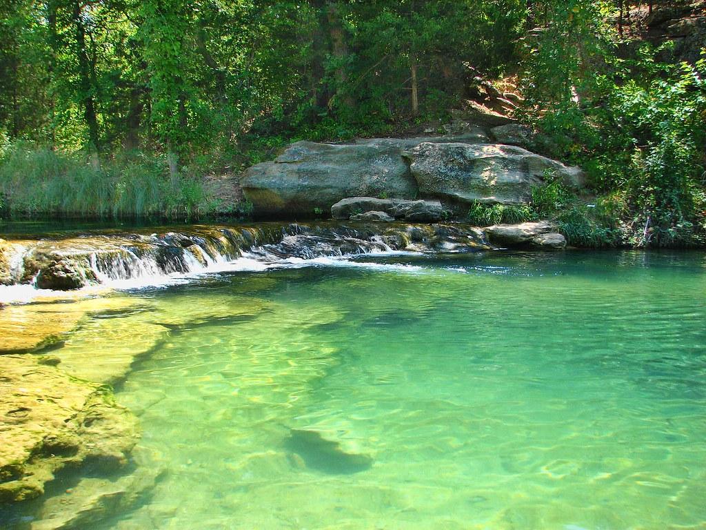 Travertine Creek In Sulphur Oklahoma Year Round 65